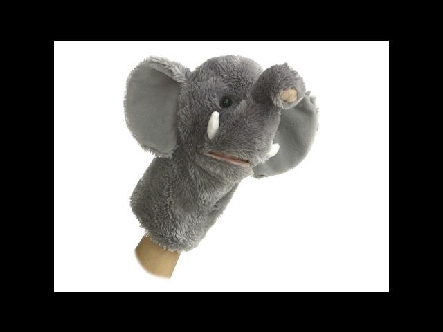 Elephant Hand Puppet 10