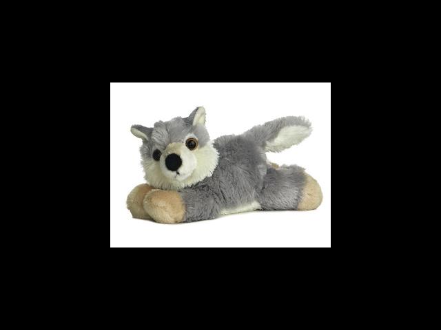 Aurora 8'' Plush WOOLSEY The Mini Flopsie Wolf