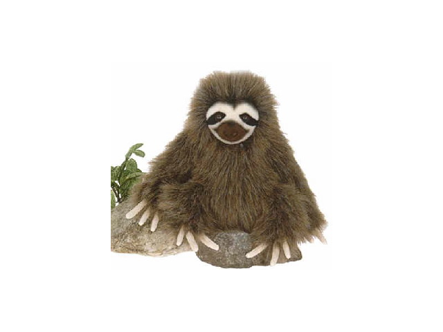 "Sitting Three Toed Sloth 9"" by Fiesta"