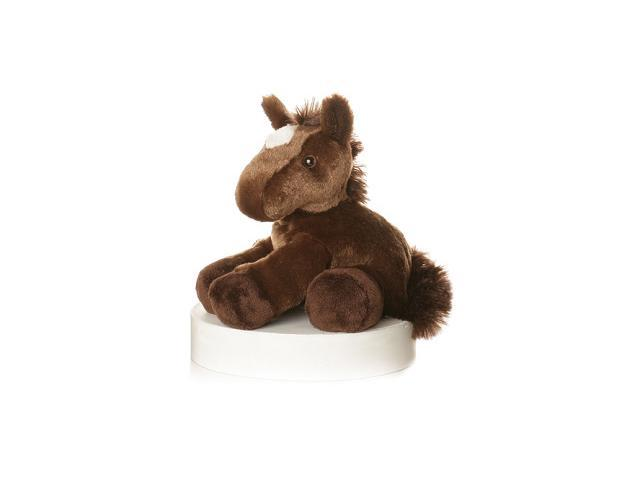 """Chestnut Brown Horse Mini Flopsie 8"""" by Aurora"""