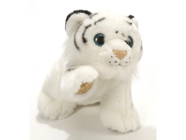 """Playful White Tiger Babies 7"""" by Wild Republic"""