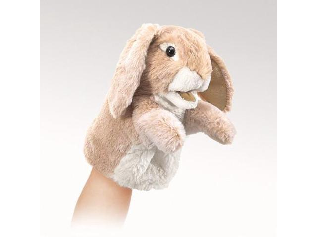 Folkmanis Little Lop Rabbit Hand Puppet