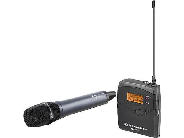 Sennheiser EW135-p G3 Camera Mount Wireless Microphone System with SKM100 G3 Handheld (A / 516 - 558 MHz)