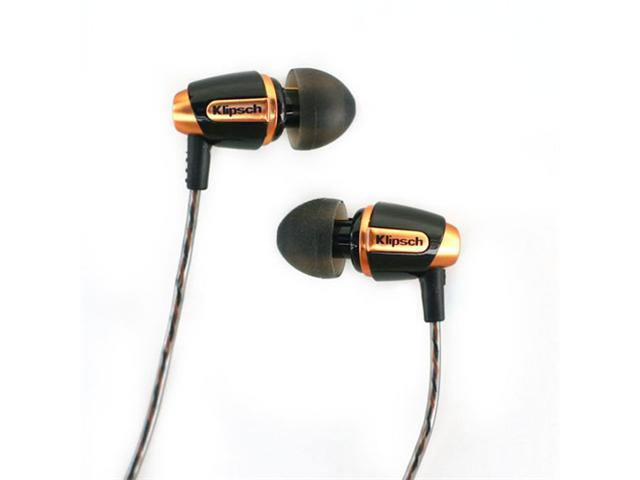 Klipsch Reference S4 Premium In-Ear Noise-Isolating Headphones (Black)