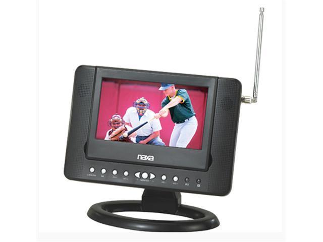 07 inch Naxa NTD-7561 Widescreen AC/DC Digital LCD TV w/ DVD Player and USB/SD/MMC Inputs