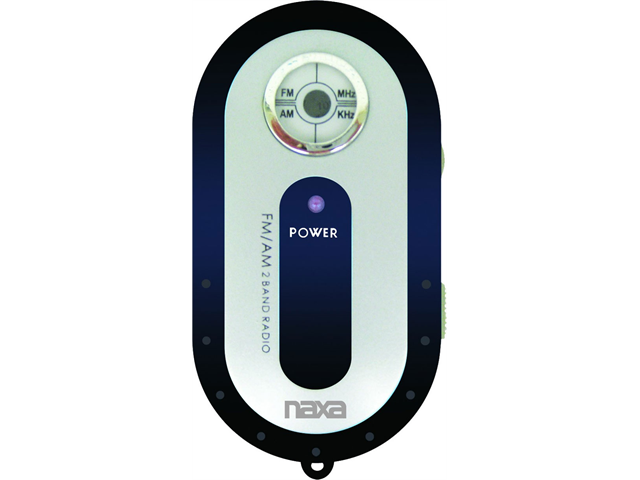 Naxa NR-720 AM/FM Mini Pocker Radio - Black