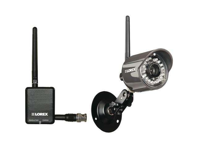 Lorex LW2110 Wireless Security Camera Weatherproof Night Vision 460 TV Lines New