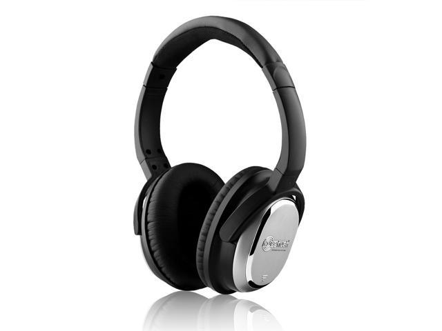 NoiseHush i7 Active Noise-Cancelling Headphones - Black