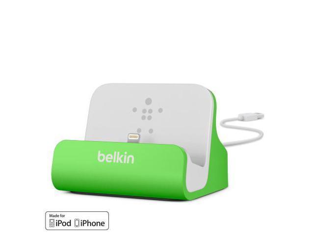 Belkin MIXIT ChargeSync Dock for iPhone 5 - Green (F8J045btGRN)