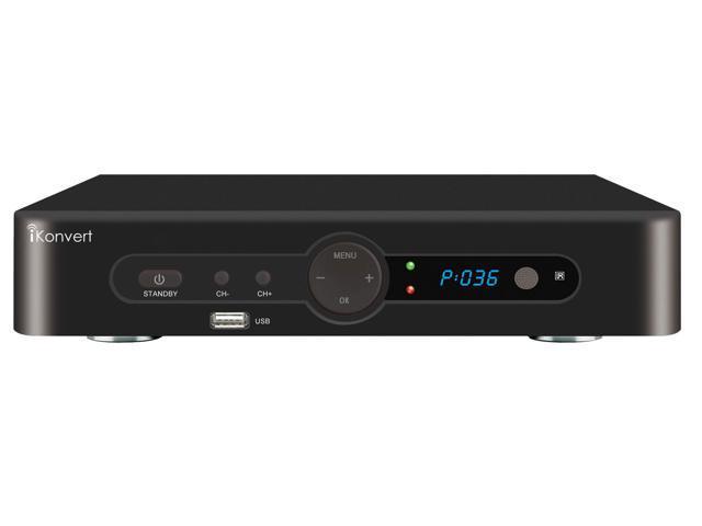 iKonvert SC-58 Digital DTV Converter Box with Full ATSC Compliant