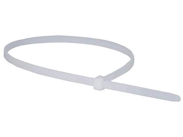 Monoprice 14-inch Cable Tie, 100pcs/Pack, 50 lbs Max Weight - White
