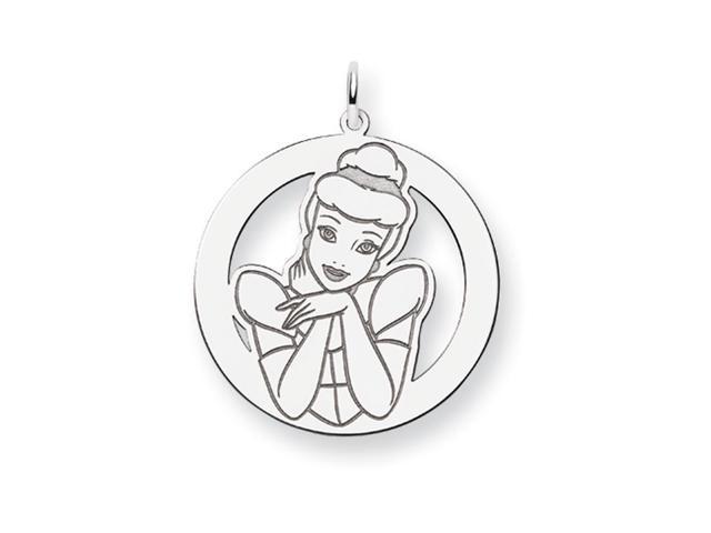 Disney's Cinderella Charm in Sterling Silver