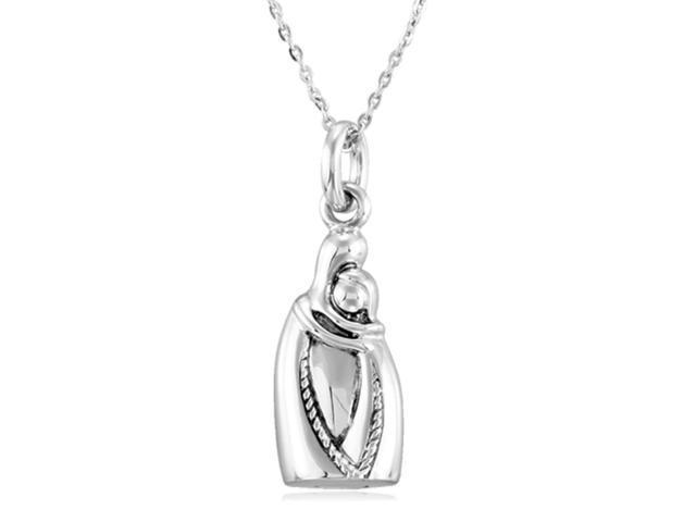 holding you forever sterling silver ash holder necklace