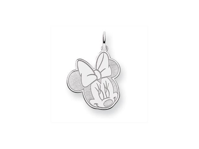 Disney's Flirty Minnie Mouse Charm in Sterling Silver