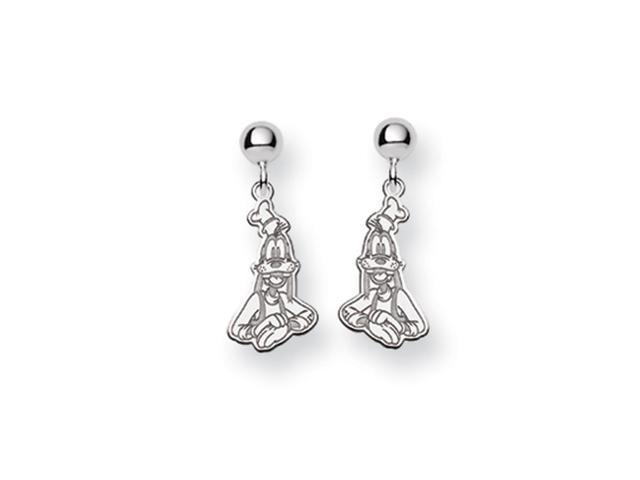 Disney's Goofy Post Earrings in Sterling Silver
