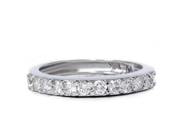 1/2ct Diamond Wedding Ring White Gold Anniversary 14k Band Round Solitaire