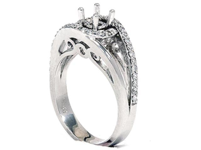 1/3ct Diamond Fancy Engagement Ring Setting 14K Mount
