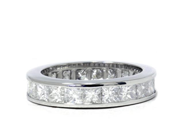 3ct Channel Set Diamond Eternity Ring 950 Platinum