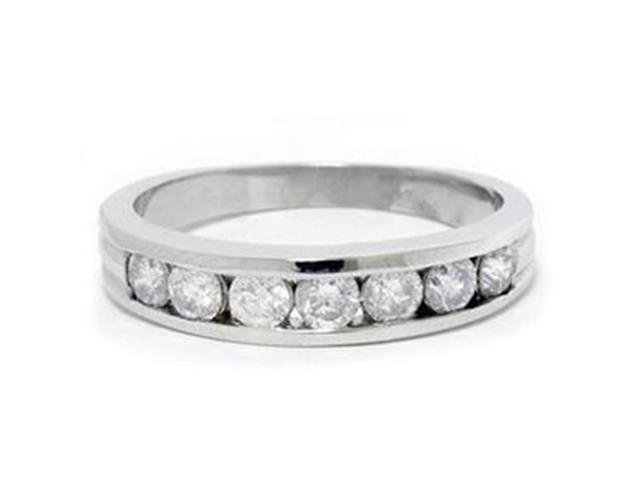 Diamond Wedding Anniversary Ring 1ct Round Real 14K
