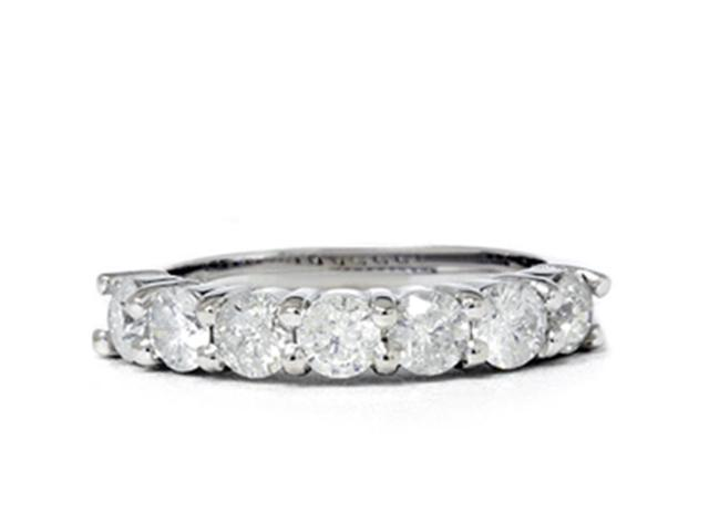2 1/10ct HUGE Real Diamond Wedding Anniversary 14K Ring
