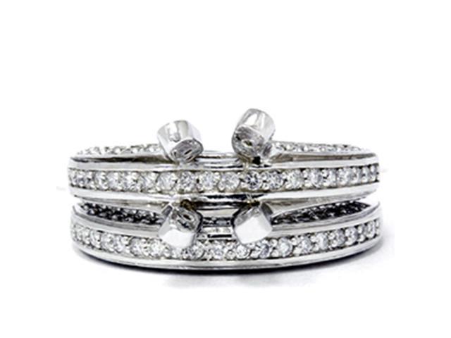 1 1/2ct Diamond Engagement Bridal Ring Setting Mounting