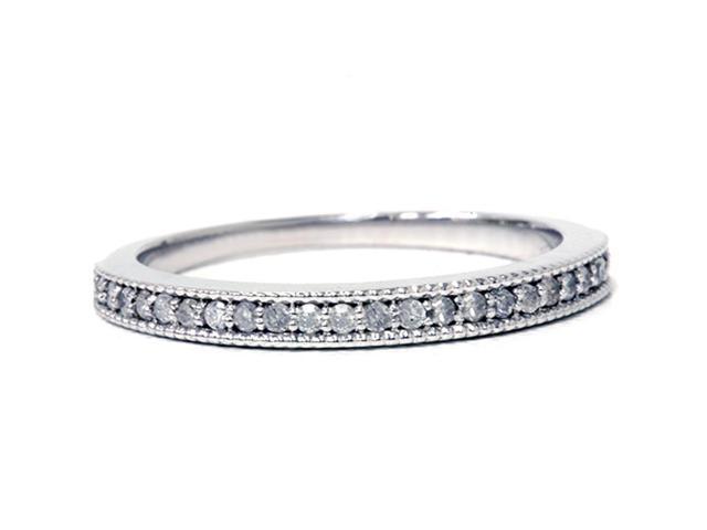 1/3ct Diamond Ring 14K White Gold
