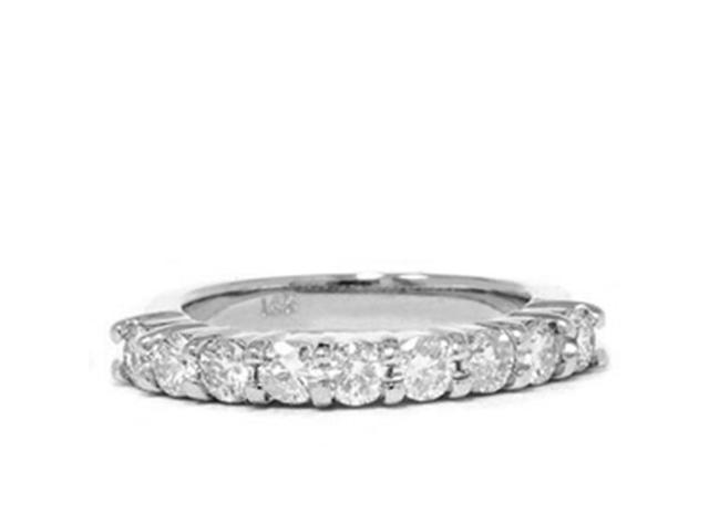 1ct Diamond Wedding 14K White Gold Ring New Band