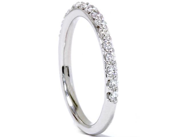 1/3ct Prong Diamond Ring 14K White Gold