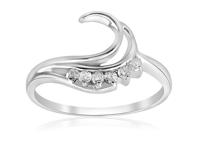 1/4ct Diamond Ring Enhancer 14K White Gold