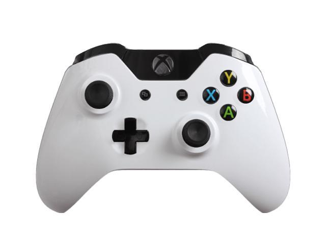 Custom Xbox One Controller with Glossy White Shell