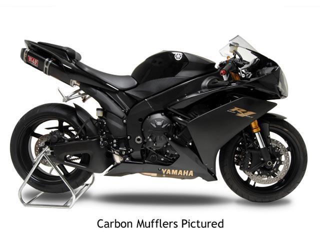 Yoshimura TRC Tri-Oval Full Exhaust System Carbon (1363072)