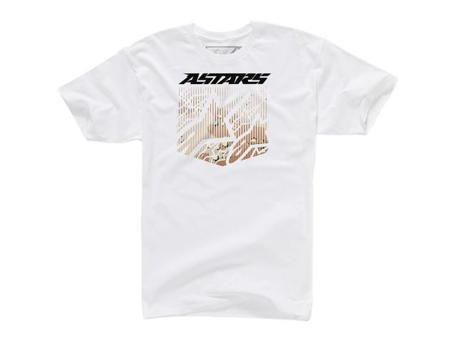 Alpinestars Shield Mens T-Shirt White MD