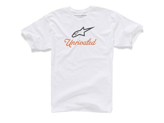 Alpinestars Unrivaled Mens Short Sleeve T-Shirt White XL