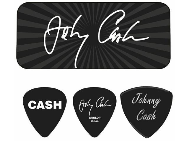 "Johnny Cash - ""Signature"" Guitar Pick Tin - 6 Picks"