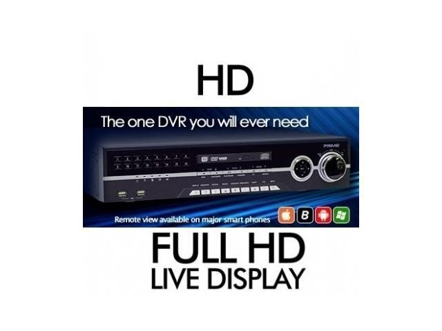16Ch Real-Time High Quality DVR system Support POS/ATM transaction DVDRW 1TB Loop-Out HDMI