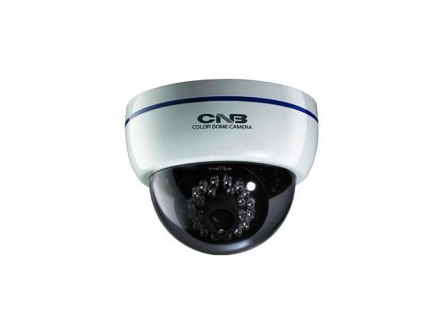 CNB OEM LBM-20S 600 TVL Color Infared Indoor Dome Camera 28 IR, White Case OEM ID DD252-0IR , Night Vision of DFL-20S