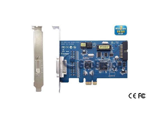Genuine geovision GV-600B-16 16ch DVR card 30fps v8.5 software 64 bit Windows 7 support