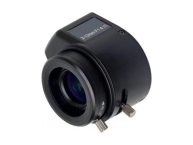 Mega Pixel 3~12mm Auto-Iris Varifocal Lens with IR Correction