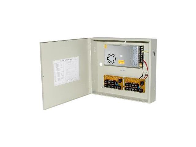 Resettable Fuse Box : Power supply distribution box v dc channels high