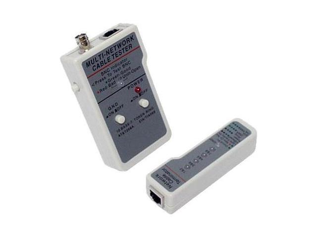 UTP / STP / Coaxial and Modular Cable Tester