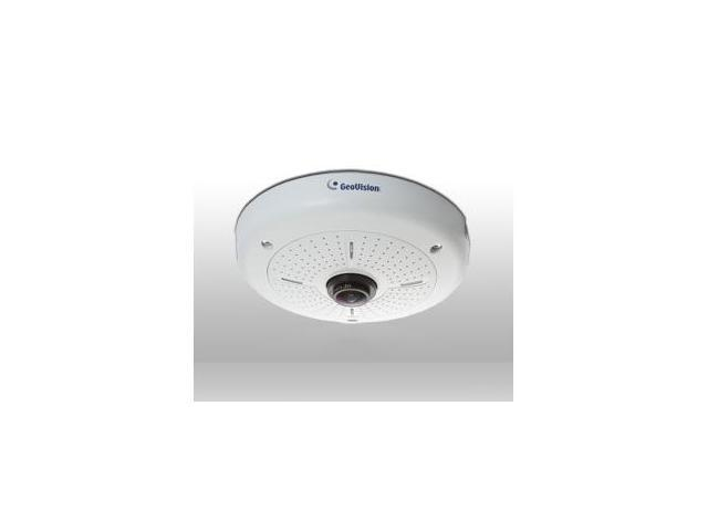GEOVISION 1.3 Megapixel Network IP Camera: Hemispheric View, Fish Eye, Virtual PTZ GV-FE110