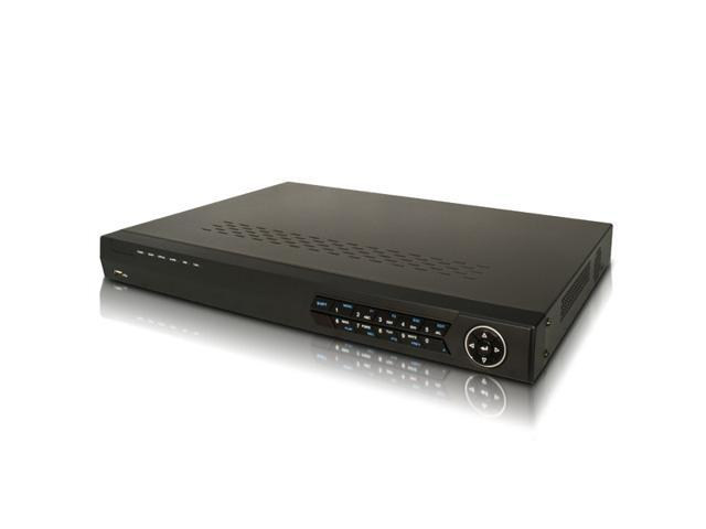 16CH 960H Realtime DVR, HDMI and VGA output at up to 1920×1080P resolution, 16-ch simultaneous playback (4TB)