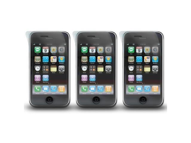 Lot 3x Sets Clear Screen Protector for Apple iPhone 3G 3GS Film Cover
