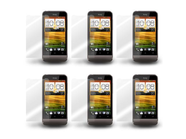 Lot 6X LCD Clear Touch Screen Protector Film Guard for HTC One V T320e