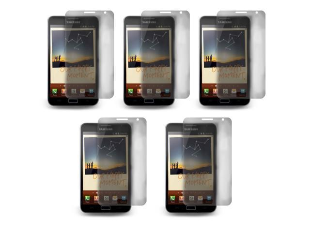 Lot 5x LCD Screen Skin Protector Film Cover For Samsung Galaxy Note N7000 i9220