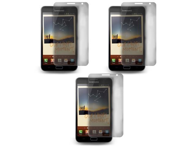 Lot 3x LCD Screen Skin Protector Film Cover For Samsung Galaxy Note N7000 i9220