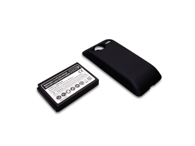 New Mobile Extended Cell Phone Battery + Back Cover for Sprint HTC EVO Shift 4G A7373 PG06100