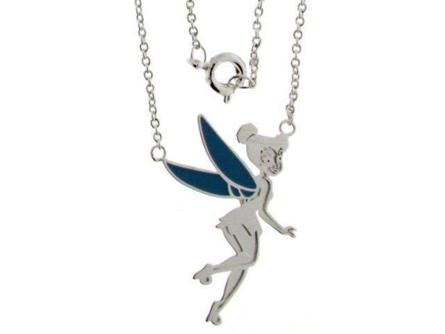 Disney Tinkerbell Necklace - Limited Silver Tone