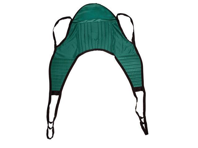 Padded Patient Lift U Sling with Head Support - OEM