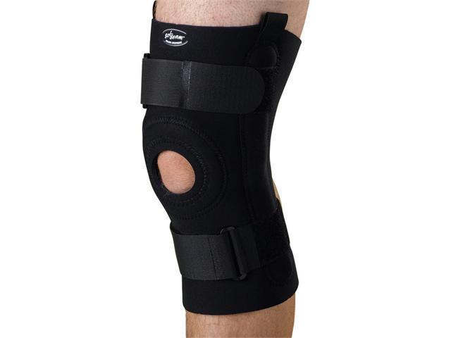 Medline ORT232202XL U-Shaped Hinged Knee Supports,Black,2X-Large Case Of 1 EA